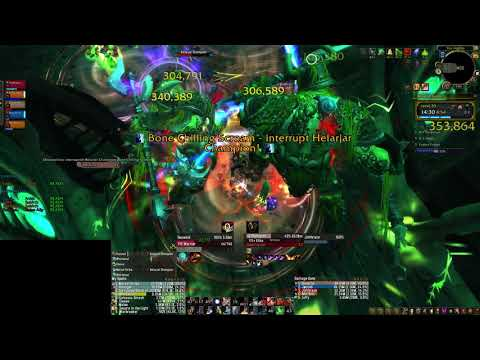 Maw+20 - Teeming, Quaking, Fortified (7.3) Arms Warrior PoV