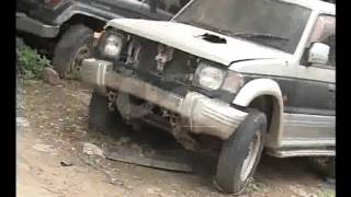Smuggled Captured Vehicles Bad Condition Customs Headquarter Pkg By Rizwan Naqvi City42