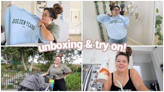 unboxing my olivia rodrigo merch (it's not great) + a monday vlog!
