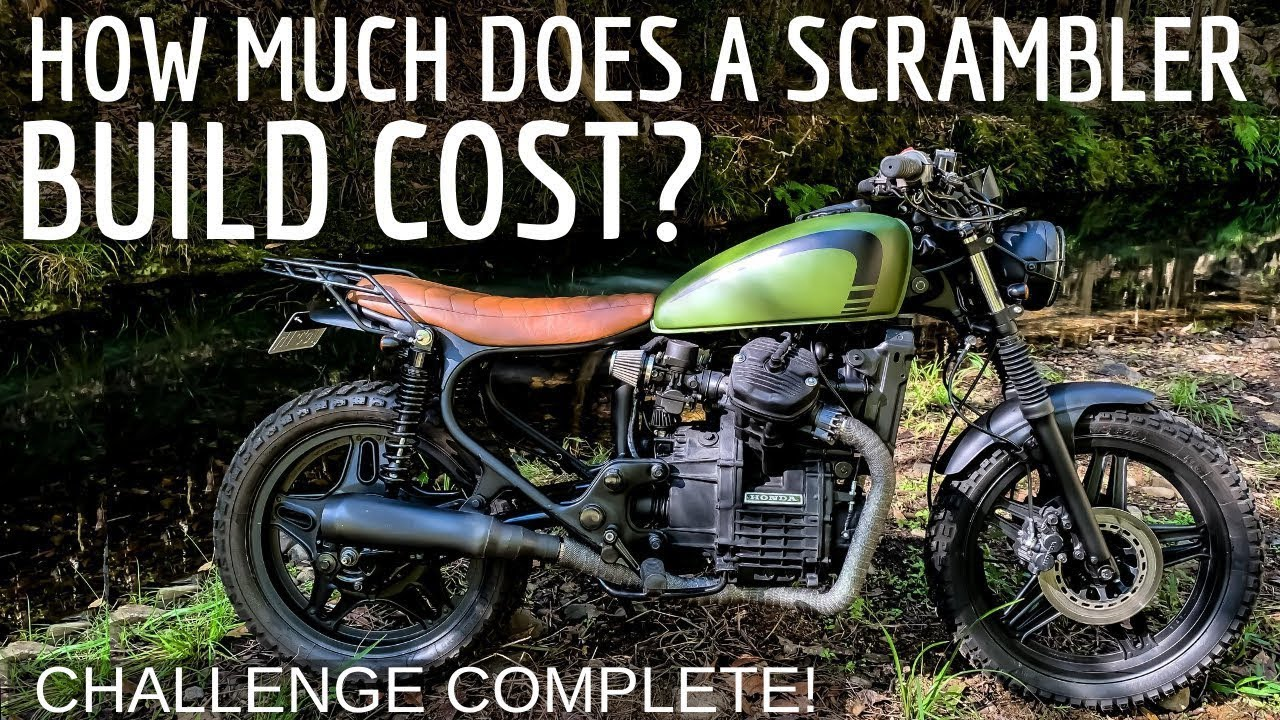 How Much Does a Scrambler / Cafe Racer Build Cost?
