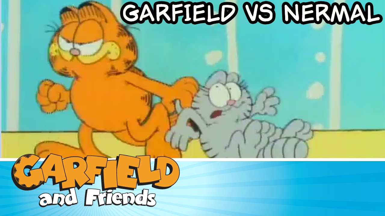 Garfield Vs Nermal Garfield Friends Youtube