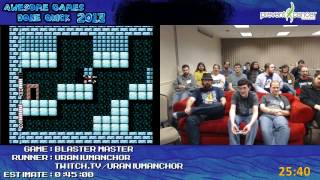 Awesome Games Done Quick 2013 - Blaster Master
