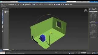 Моделирование комнаты в 3DS Max 2016. Спальня (Урок №1)