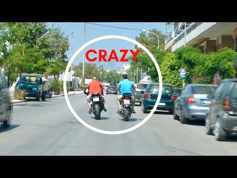 """The """"Joy"""" Of Driving In Greece 