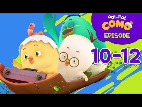 Como Kids TV | Episode 10-12 | Cartoon video for kids