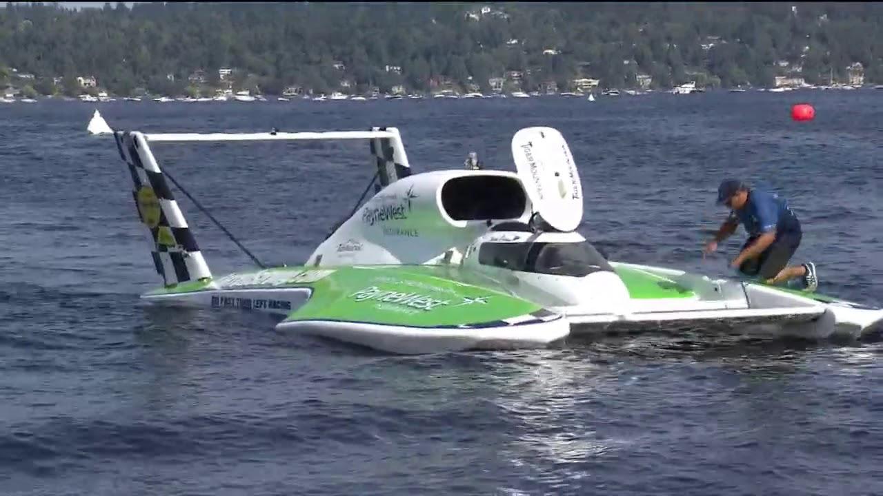 WATCH: H1 Unlimited Hydroplane Heat 3B at Seafair