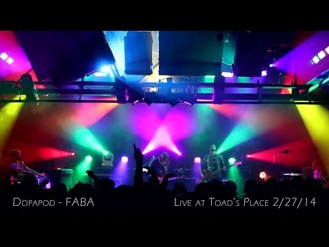 Dopapod: FABA [4-Cam/HD] 2014-02-27 - Toad's Place; New Haven, CT