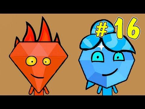 ОГОНЬ и ВОДА. Приключения в хрустальном храме #2. Развлекательное видео для детей на Игрули TV