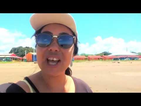 Única praia de água salgada do amapá