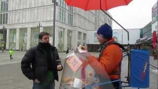 Berlin Bratwurst in the Alexanderplatz | Berlin, Germany