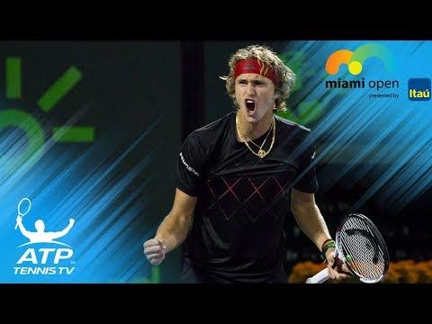 Isner, Zverev storm into final | Miami Open 2018 Semi-Final Highlights