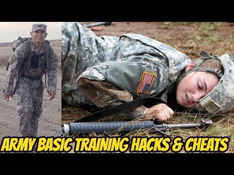 TOP 5 HACKS & CHEATS TO PASS ARMY BASIC TRAINING! HOW TO PASS BASIC TRAINING