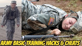 TOP 5 HACKS & CHEATS TO PASS U.S. ARMY BASIC TRAINING! **HOW TO PASS BASIC TRAINING**