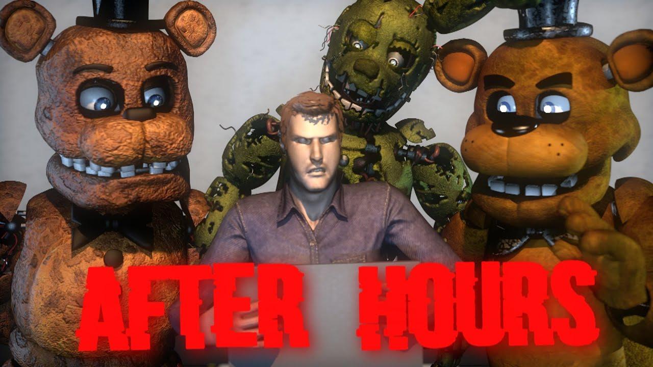 Download [SFM/FNaF] After Hours By JT Music