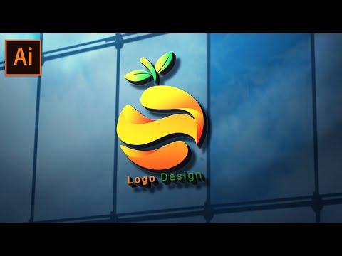 3D Orange Logo Design Tutorial in Adobe Illustrator thumbnail