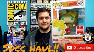 SDCC Funko Pop Haul (Part 1)