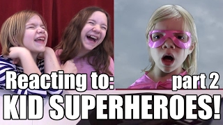Kid Superheroes Today! Reacting to part 2 of the Babyteeth4 Classic