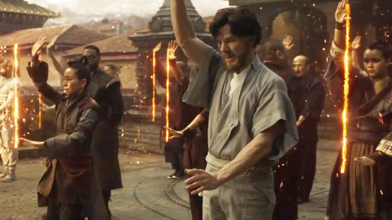Download Dr Strange get his Training Scene in Hindi