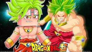 Minecraft - WHO´S YOUR FAMILY - O FILHO DO BROLY É O SSJ MAIS PODEROSO DO UNIVERSO NO DRAGON BALL