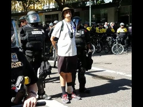 Chasing down the Arrest of (Son Of Hightower) PDX Protest