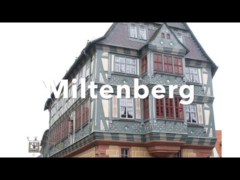 Miltenberg Germany Old Town Travel Video