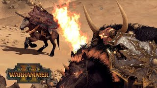 CHAMPION & CHOSEN - Chaos vs Undead 2v2 // Total War: Warhammer II Online Battle