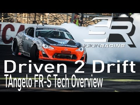 Driven 2 Drift 2013 - [Ep 4] - TAngelo Racing Scion FR-S Tech Overview & Build
