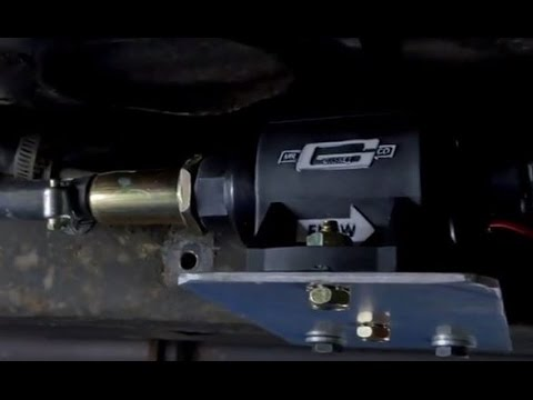 Mr Gasket Micro Electric Fuel Pumps Installation Tutorial How To