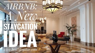 Gambar cover How we stayed overnight at The Pearl-Qatar for only QR87? || AIRBNB