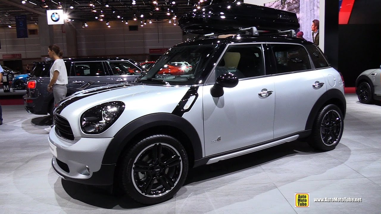 2017 mini cooper d countryman all4 112ch exterior and interior walkaround 2016 paris motor. Black Bedroom Furniture Sets. Home Design Ideas