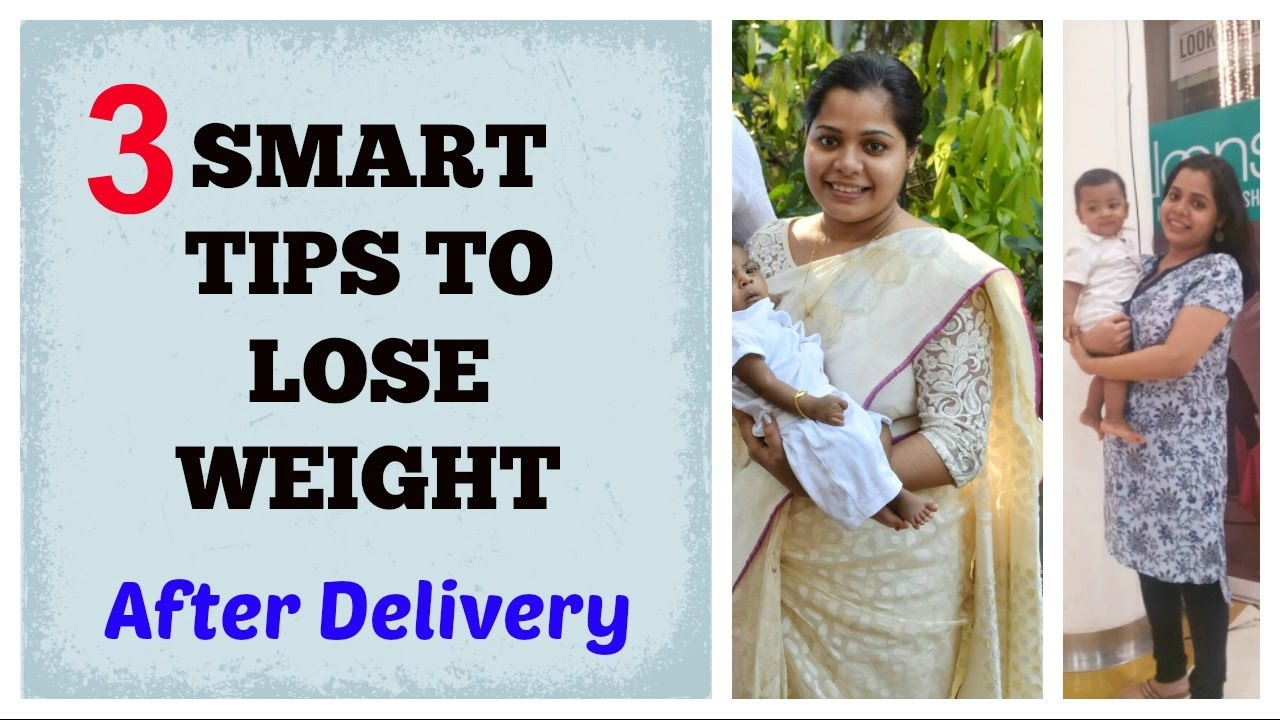 how to lose weight after delivery naturally