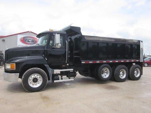 2002 Mack CH613 Dump Truck - YouTube