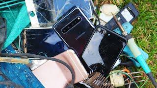 restoration samsung   Restoration abandoned destroyed phone  Found a lot of broken phones in rubbish