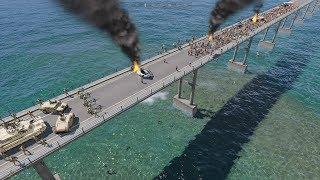 BRIDGE LAST STAND - ArmA 3 (Zombies & Demons)