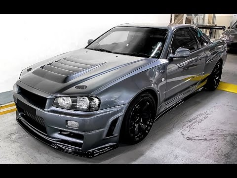 nissan skyline r34 gtr the king of streets youtube. Black Bedroom Furniture Sets. Home Design Ideas