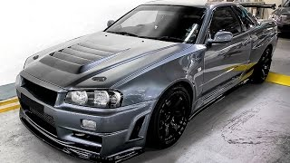 NISSAN SKYLINE R34 GTR --- THE KING OF STREETS