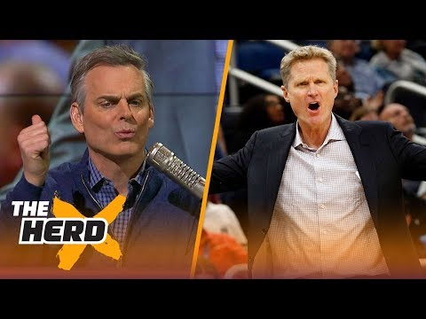 Colin Cowherd weighs on LaVar Ball's criticism of Steve Kerr | THE HERD