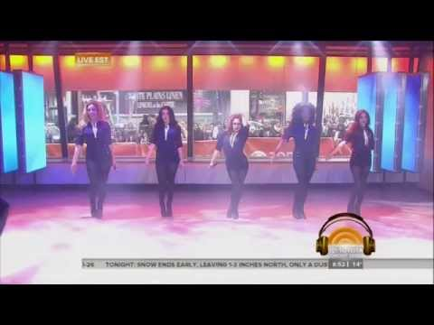 Fifth Harmony - Sledgehammer (Live @ Today Show 03/02/2015)