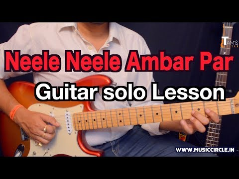 Neele Neele Ambar Par guitar solo lesson with tabs