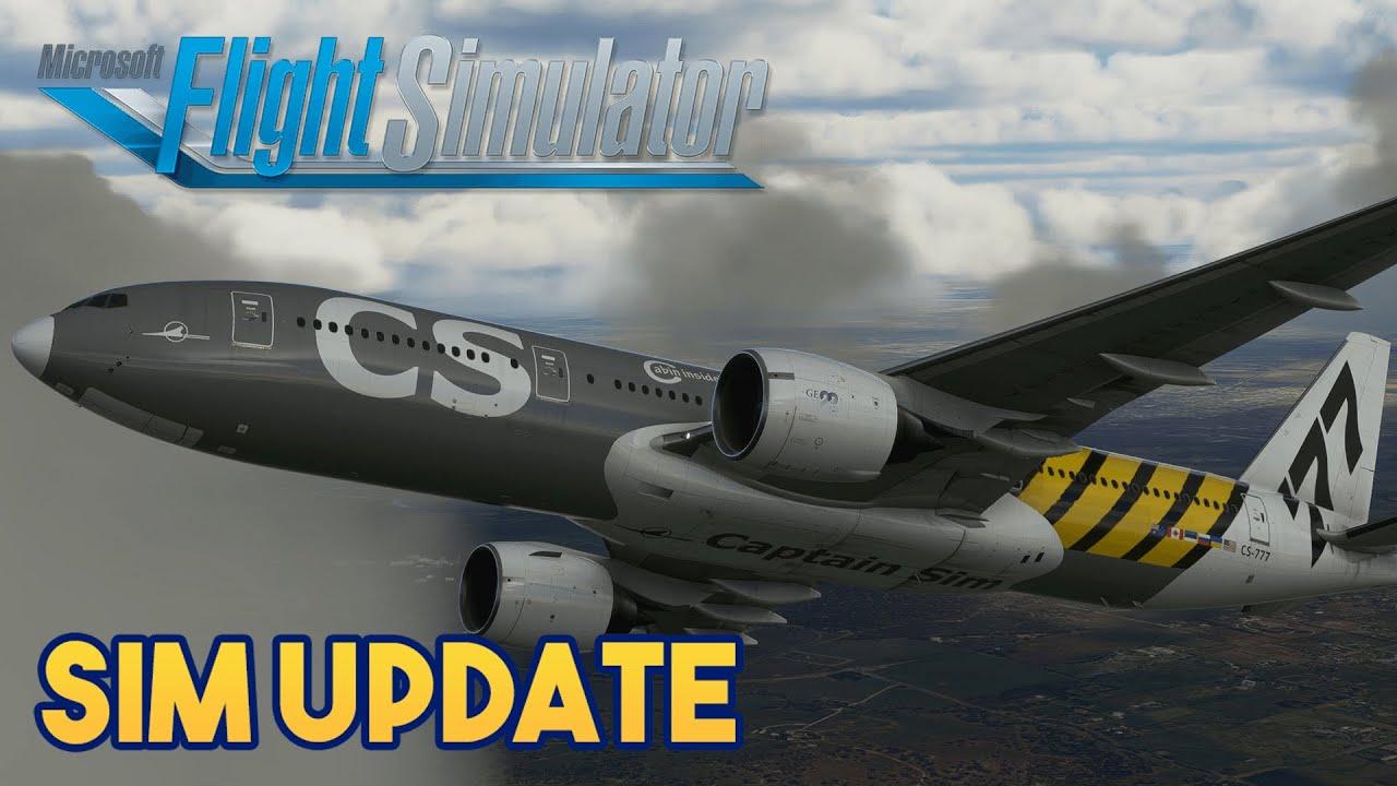 Microsoft Flight Simulator 2020 MASSIVE SIM UPDATE