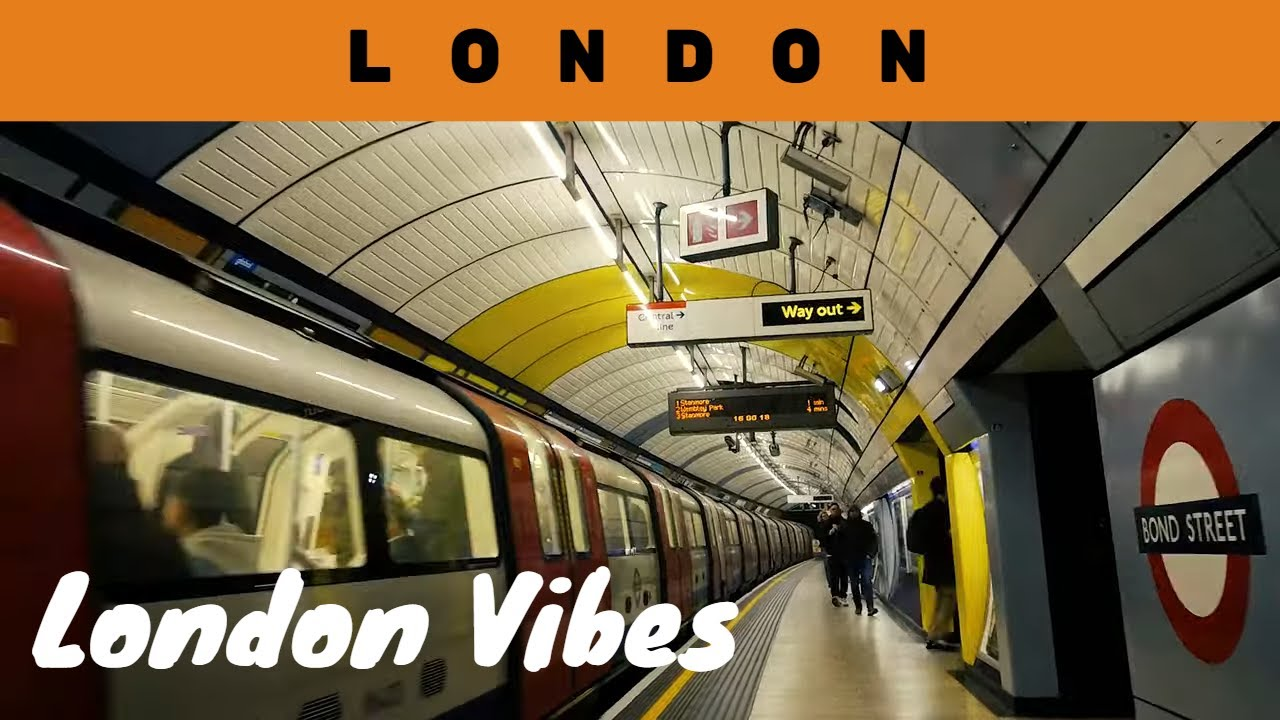 London Vibes | Transport - Royal Docks to Kensington | Train - Metro