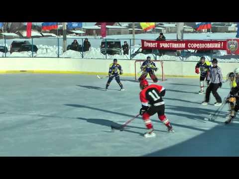 Зимние игры хоккей