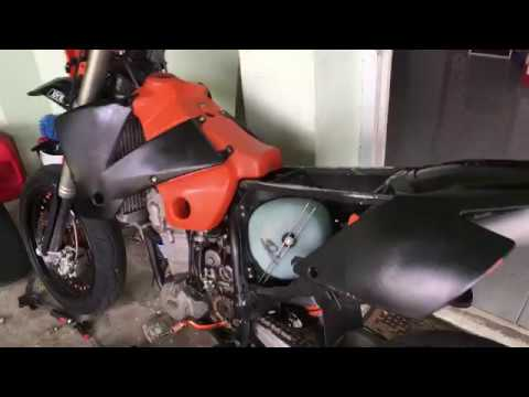 KTM 450 EXC BOGS DOWN WHEN GIVEN GAS - 250-530 EXC-F/XCF-W