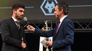 Ruben Neves wondergoal v Derby County | Goal Of The Season | Every angle and players