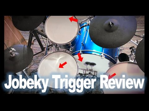 Jobeky Drum Triggers Review (Side Mounted/Center Mounted/Kick Drum)