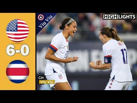 USA vs Costa Rica 6-0 Goals & Extended Highlights | November 10, 2019