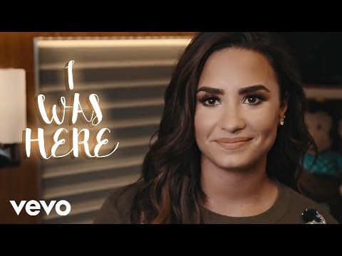 Demi Lovato - I Was Here (Official Support Video)