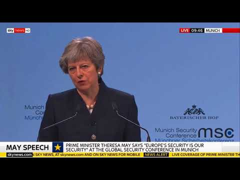 May on keeping the European Arrest Warrant