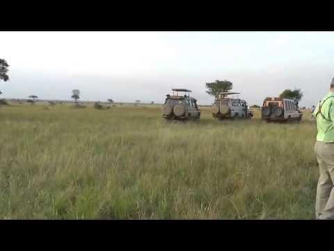 Uganda - Queen Elizabeth National Park Safari #13 - Sun Downer - 28 August 2016