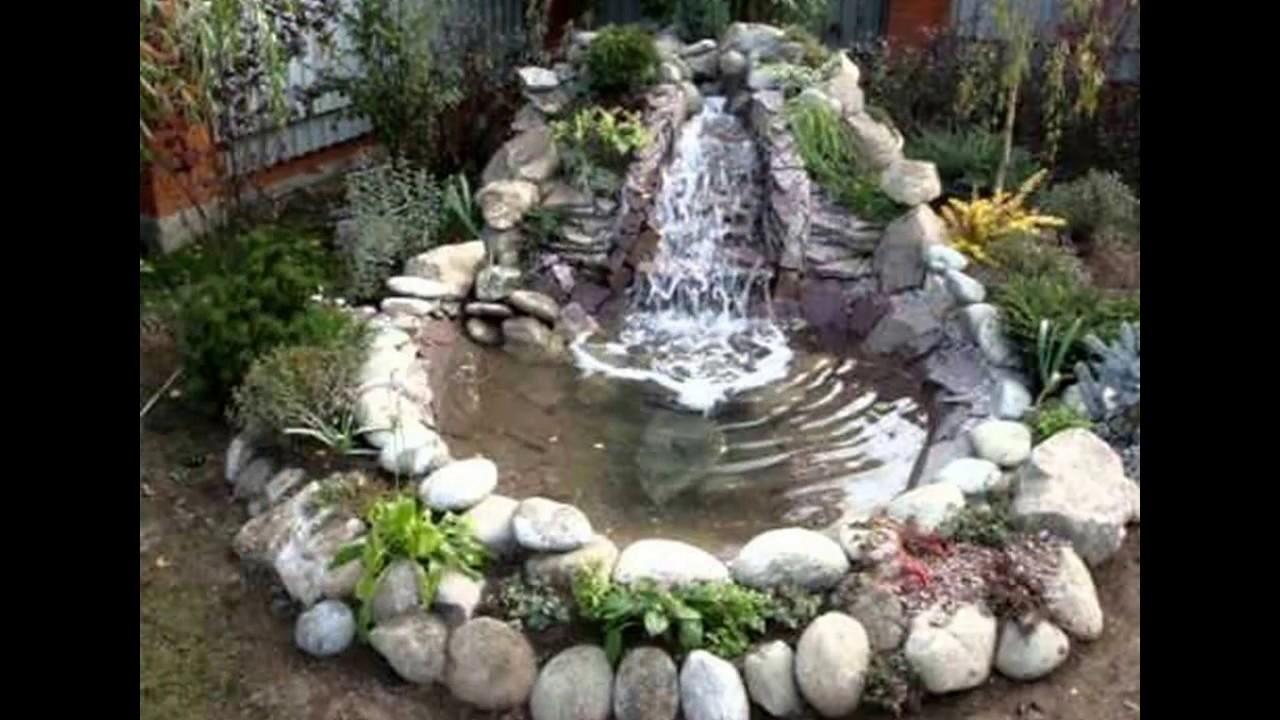 Фонтаны водопады сада своими руками